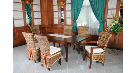 Tropical Dining Set Indonesia Teak