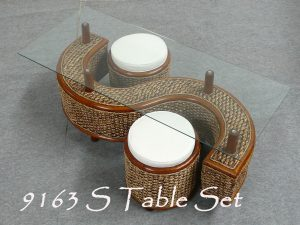 9163 S table set