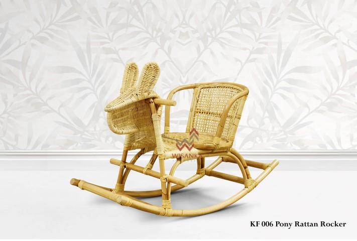 Astounding Pony Rattan Rocker Indonesia Teak Java Furniture Beatyapartments Chair Design Images Beatyapartmentscom