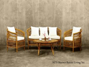 maroco-rattan-living-set
