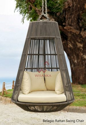 Belagio Rattan Swing Chair