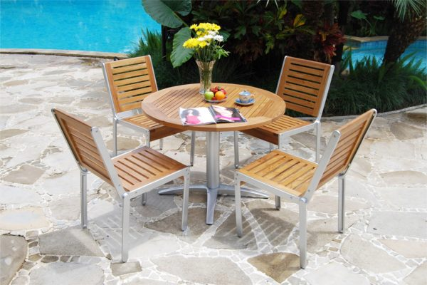 Collection Cast Alloy Casting Marrisa Dining Set