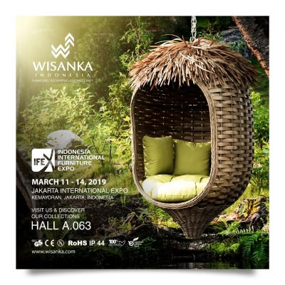 IFEX 2019 Wisanka Indonesia Furniture Wholesale and Project