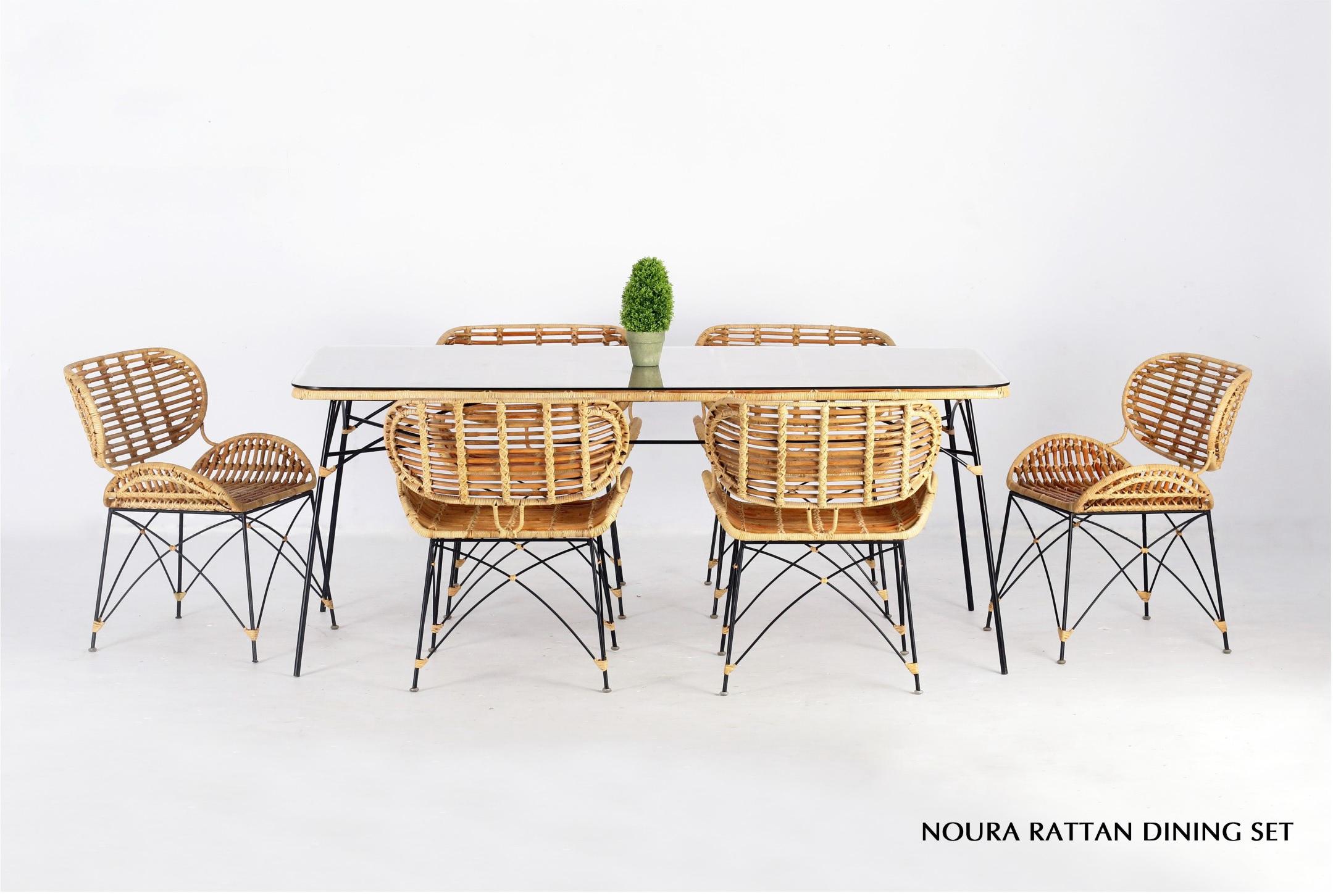 Set Da Pranzo In Rattan.Set Da Pranzo In Rattan Noura Indonesia Fornitore Di Mobili In