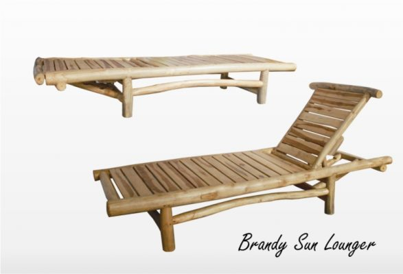 Brandy Sun Lounger Furniture Set Wisanka