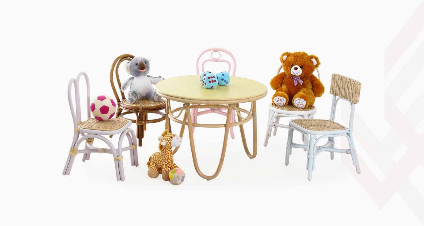 Indonesia Rattan Kids Furniture