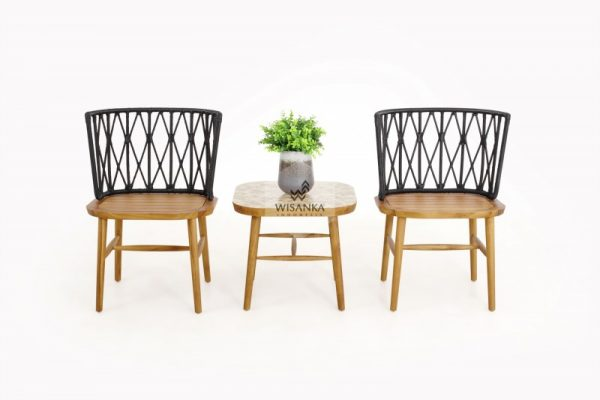 Alvira Terrace Set, Terrace Set Furniture, Indonesia Furniture, Patio Furniture Set, Terrace Chair
