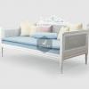 Marie Classic Wooden Sofa