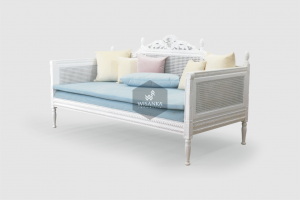 Marie Classic Wooden Sofa