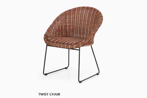 Twist Rattan Chair