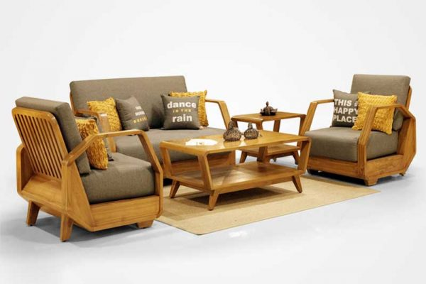 Teak furniture supplier from Indonesia, Kinanti teak living furniture, Indonesia teak furniture wholesale