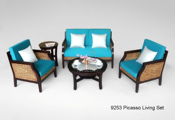 Picasso Wicker Living Set