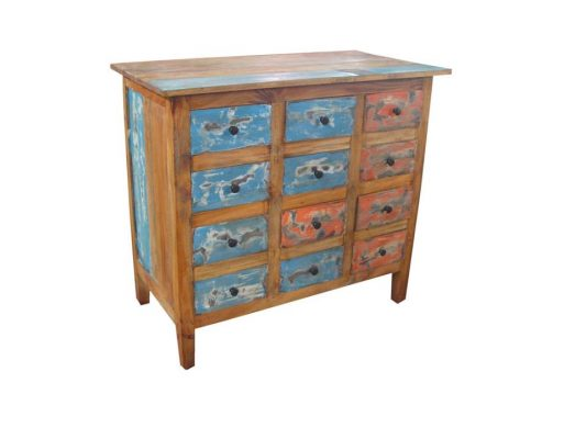 Waste Wood Furniture Cabinet, Reclaimed Teak Furniture, Recycle Furniture