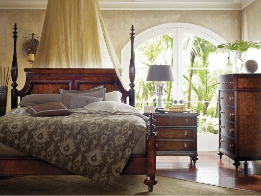 Furniture Style British Colonial Bedroom Set