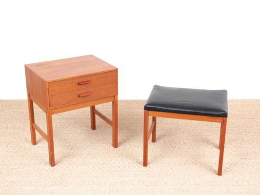 Modern Scandinavian Hall Furniture In Teak 1960s
