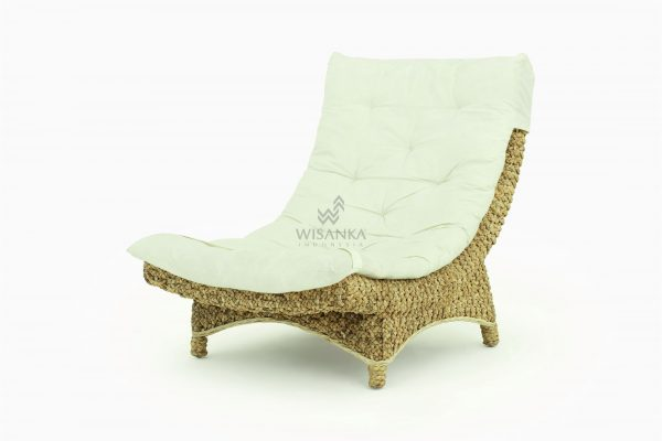 Moon Wicker Lazy Chair